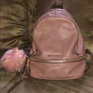 Michael Kira leather backpack